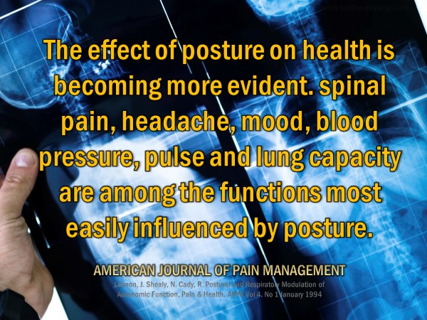 Effects of Posture on Health in Dallas GA